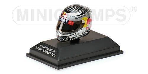 MINICHAMPS 381 120201 - Arai Helmet - S.Vettel - S+O Paulo 2012 -